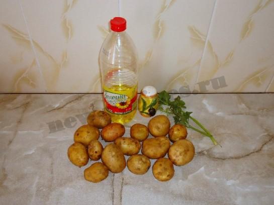 жареная молодая картошка 1