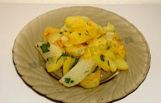 жареная молодая картошка 4