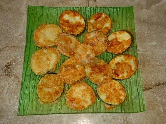 вкусные жареные кабачки в яйце