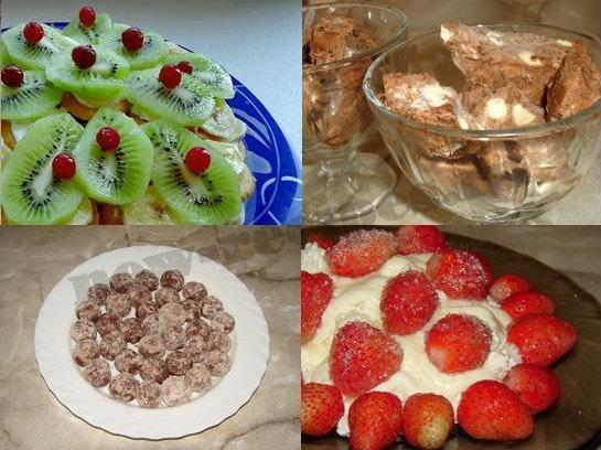 летние десерты фото рецепты