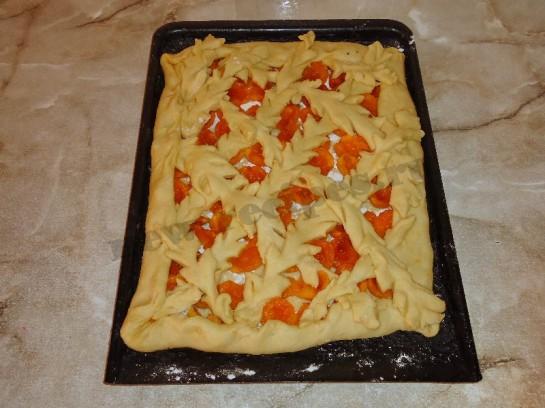 пирог с абрикосами фото 6