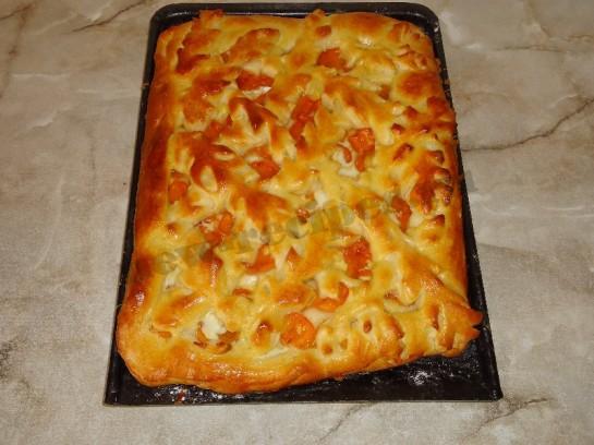 пирог с абрикосами фото 7