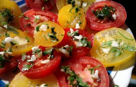 помидоры с чесноком рецепт (1)