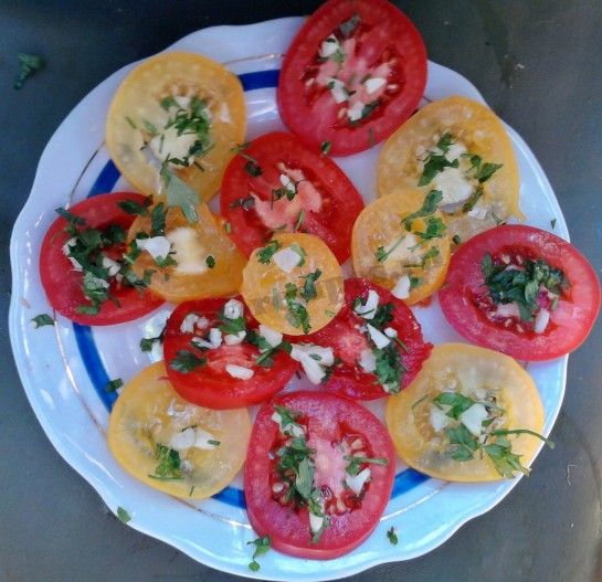 помидоры с чесноком рецепт (7)