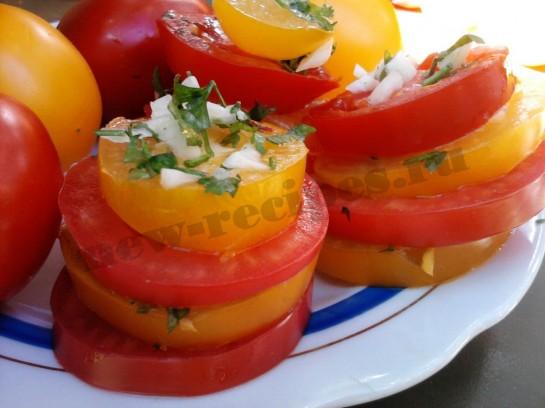 помидоры с чесноком рецепт (8)