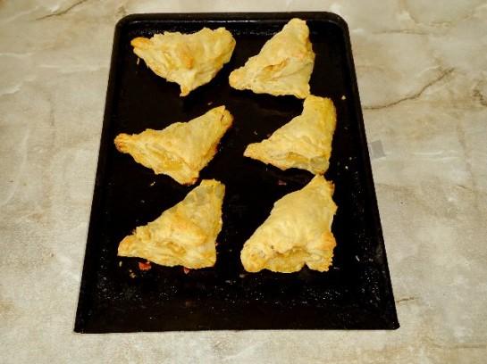 слоеное тесто с яблоками 3