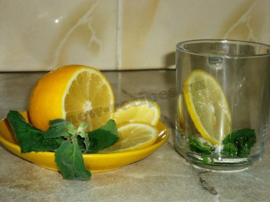 чай с лимоном и мятой 2