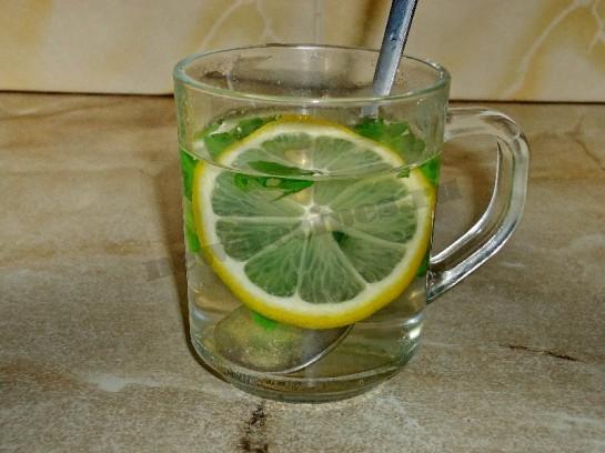 чай с лимоном и мятой 3