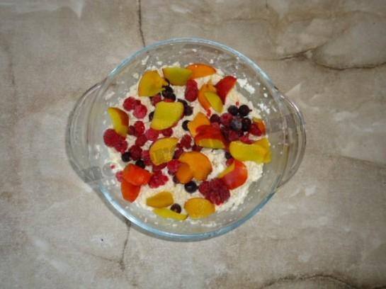 творожный десерт с фруктами фото 4