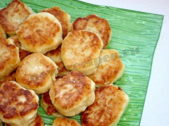 рецепт картофельники из пюре