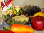 салат с виноградом фото 1