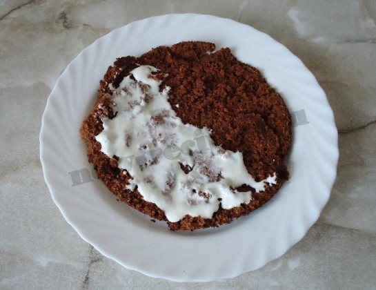 торт вишнёвая горка 10