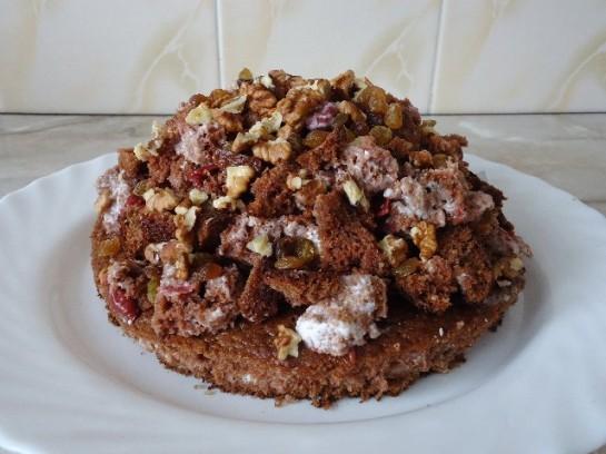 торт вишнёвая горка 14
