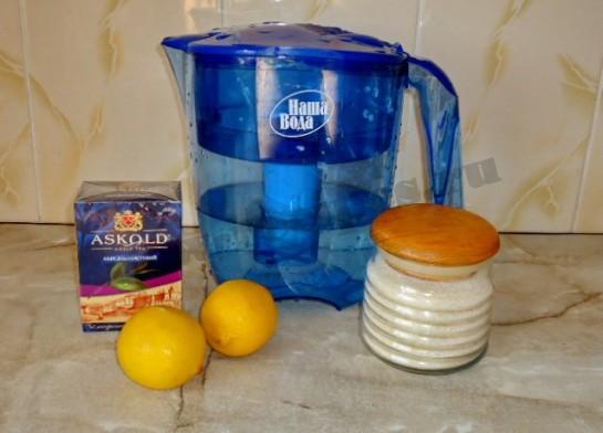 чай с лимоном фото 1