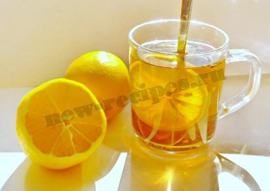 чай с лимоном фото