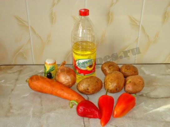 вкусная жареная картошка 1