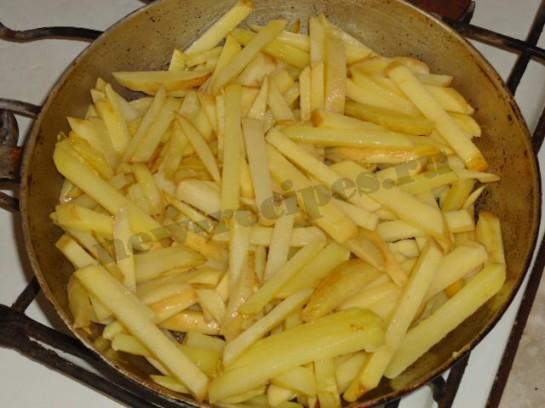 вкусная жареная картошка 3