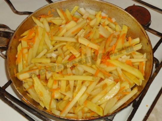 вкусная жареная картошка 4