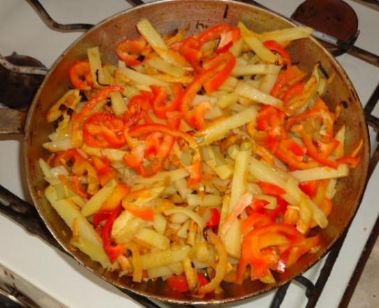 вкусная жареная картошка 5