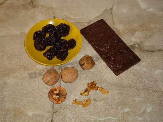 домашние конфеты чернослив в шоколаде фото 1