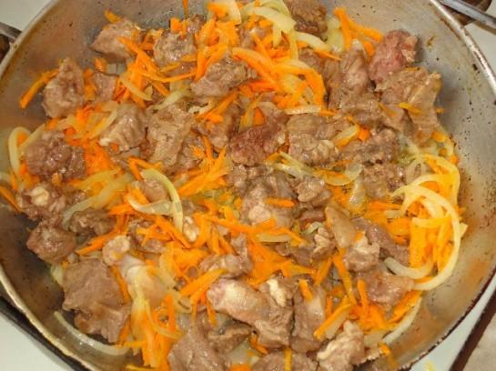 мясо с черносливом рецепт с фото 4