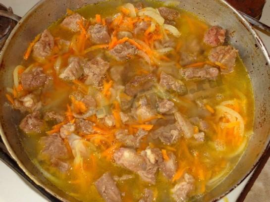 мясо с черносливом рецепт с фото 5