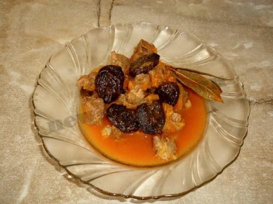 мясо с черносливом рецепт с фото 8