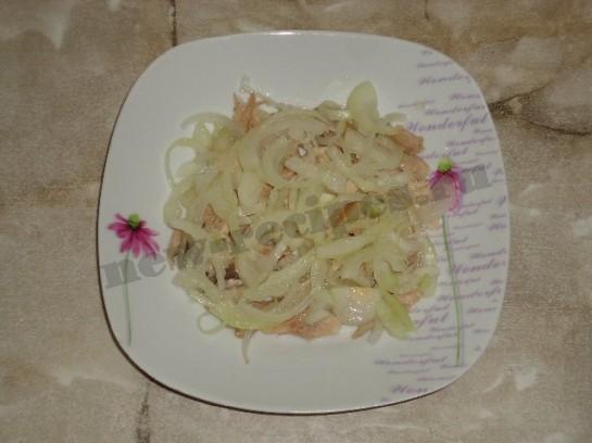 салат лисья шуба 3