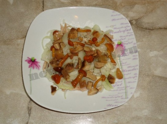 салат лисья шуба 4
