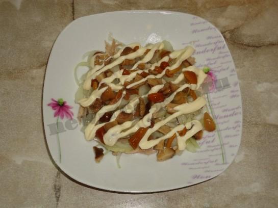 салат лисья шуба 5