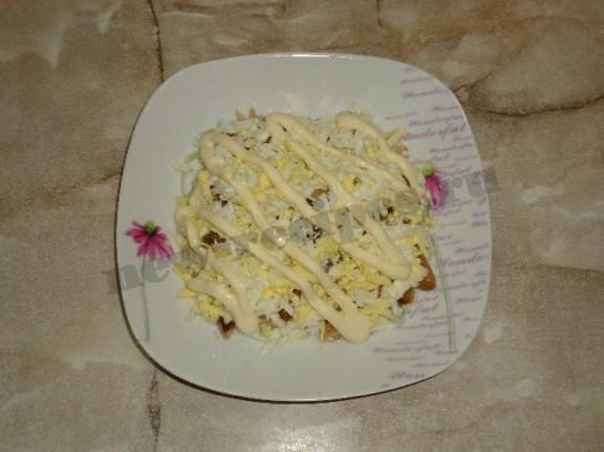 салат лисья шуба 7