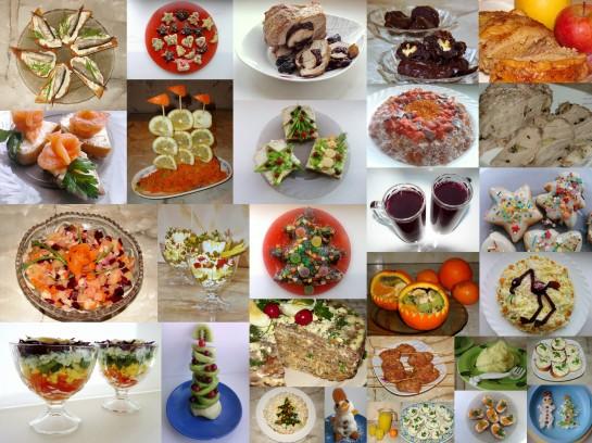 новогодние рецепты 2013 с фото