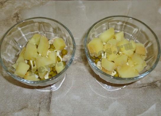 салат оливье с курицей фото 6