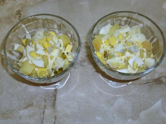 салат оливье с курицей фото 8