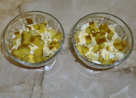 салат оливье с курицей фото 9