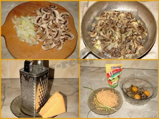 пицца с грибами и сыром фото 3