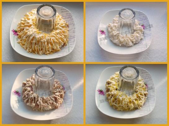 салат браслет рецепт с фото 2