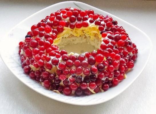 салат браслет рецепт с фото