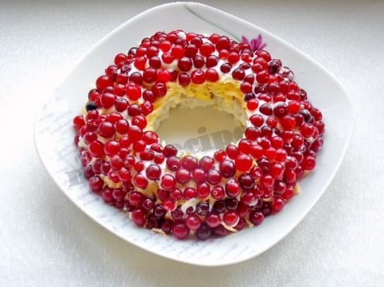 салат браслет рецепт с фото 3