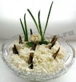 салат рыбки в пруду фото