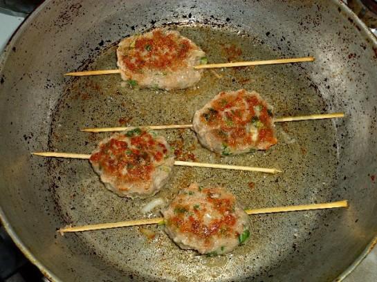 люля кебаб дома фото рецепт в духовке и на сковороде 10