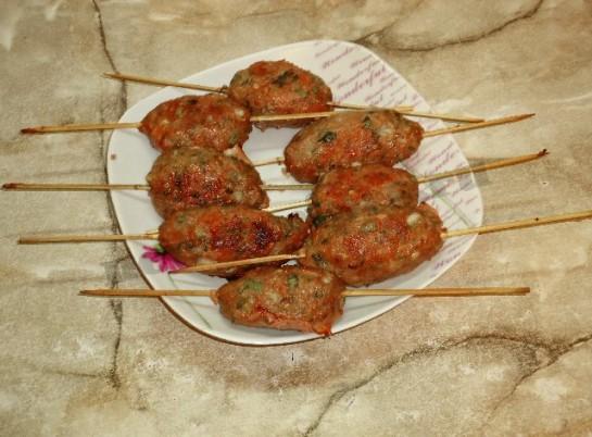 люля кебаб дома фото рецепт в духовке и на сковороде 13