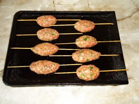 люля кебаб дома фото рецепт в духовке и на сковороде 8