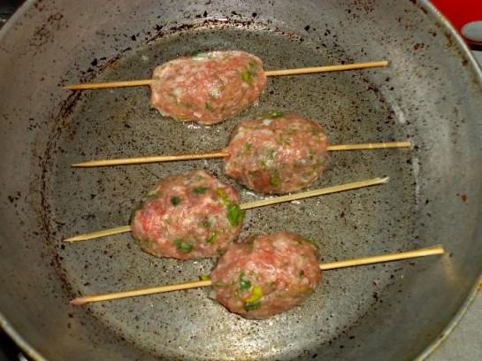 люля кебаб дома фото рецепт в духовке и на сковороде 9