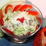 Рецепт салата пекинская капуста, куриная грудка