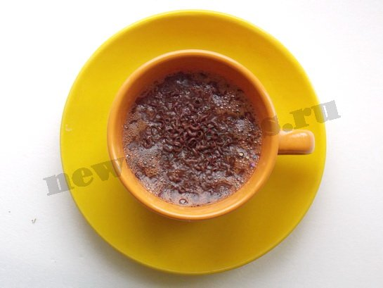 горячий шоколад дома