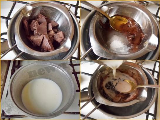 Как в домашних условиях приготовить шоколадный коктейль