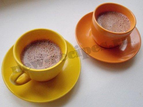 горячий шоколад готов