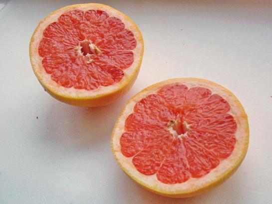 как сделать десерт из грейпфрута