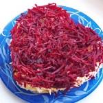 салат в виде сердца рецепт